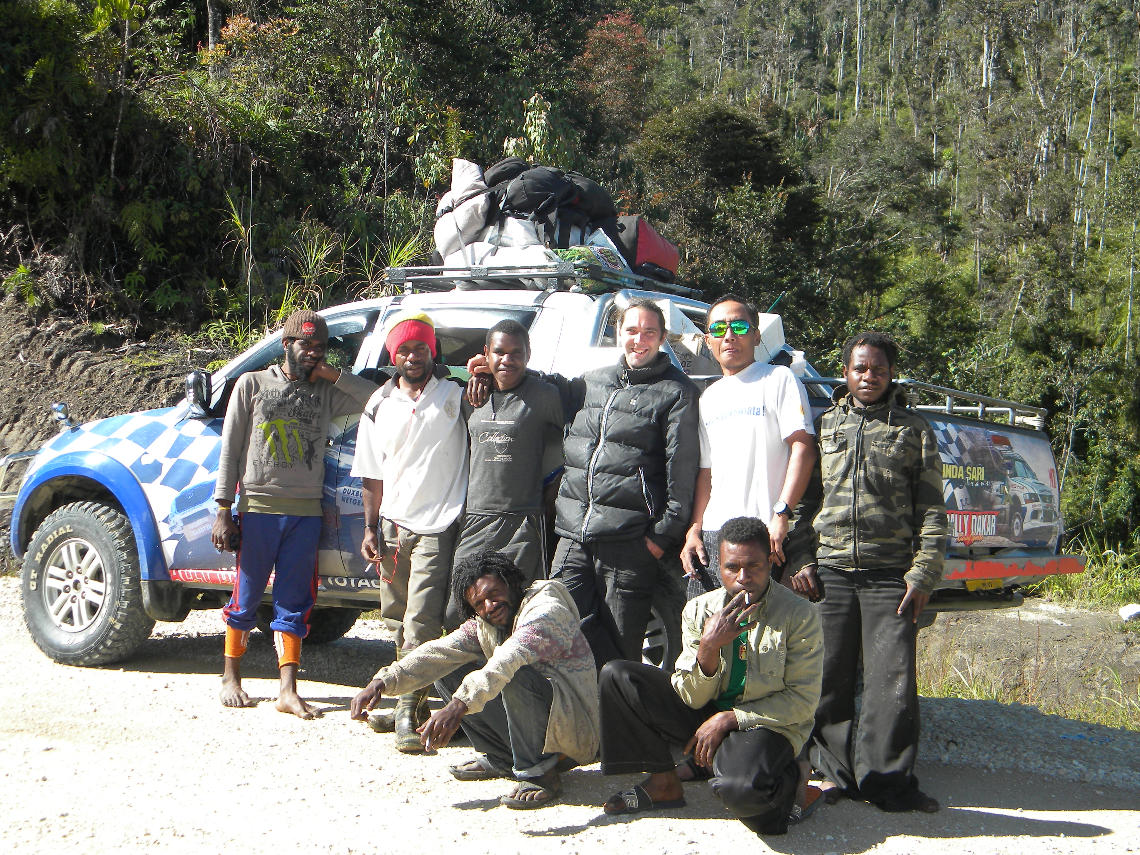 West Papua collecting trip